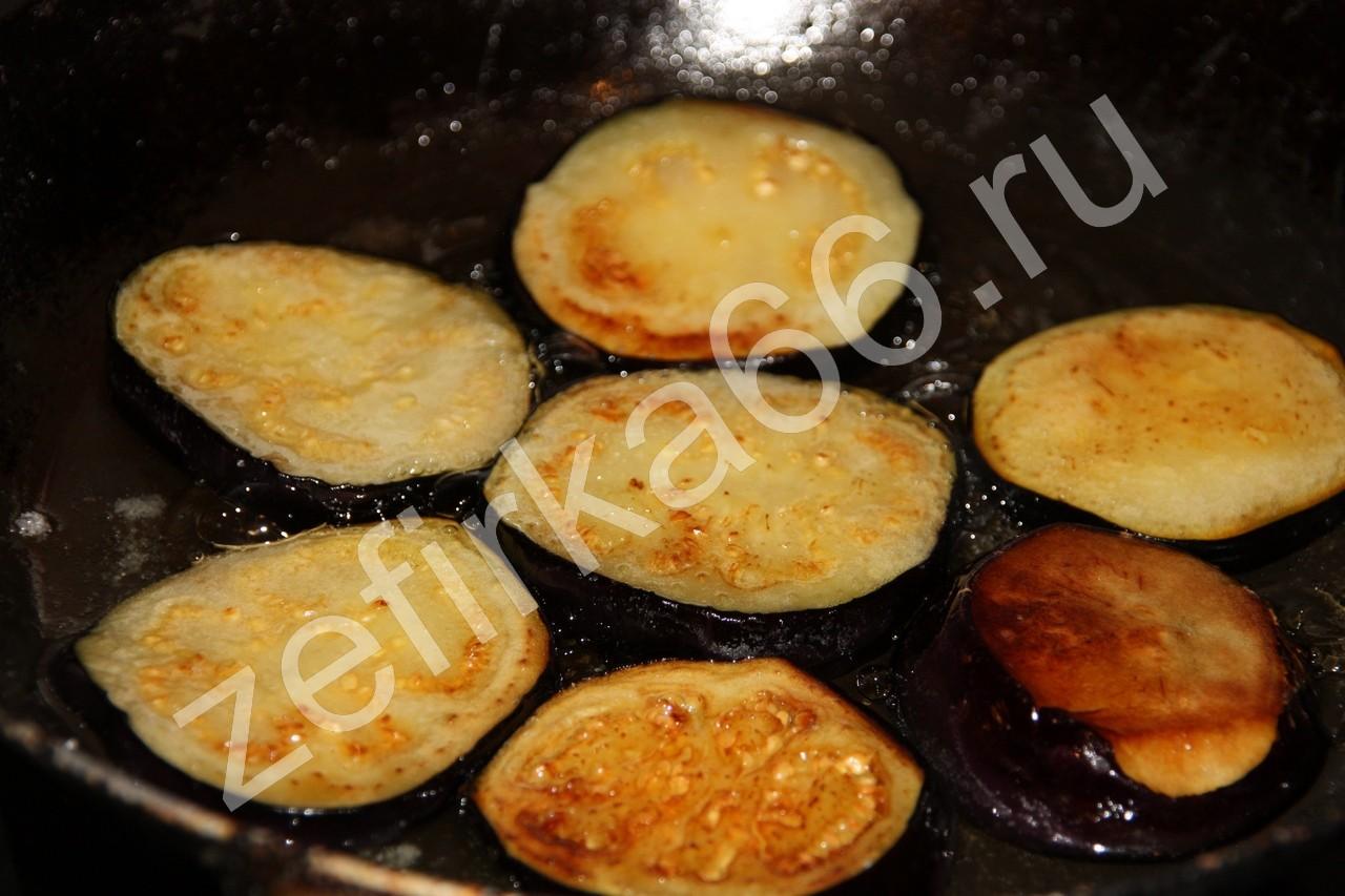 Баклажаны с майонезом и чесноком на сковороде рецепт пошагово