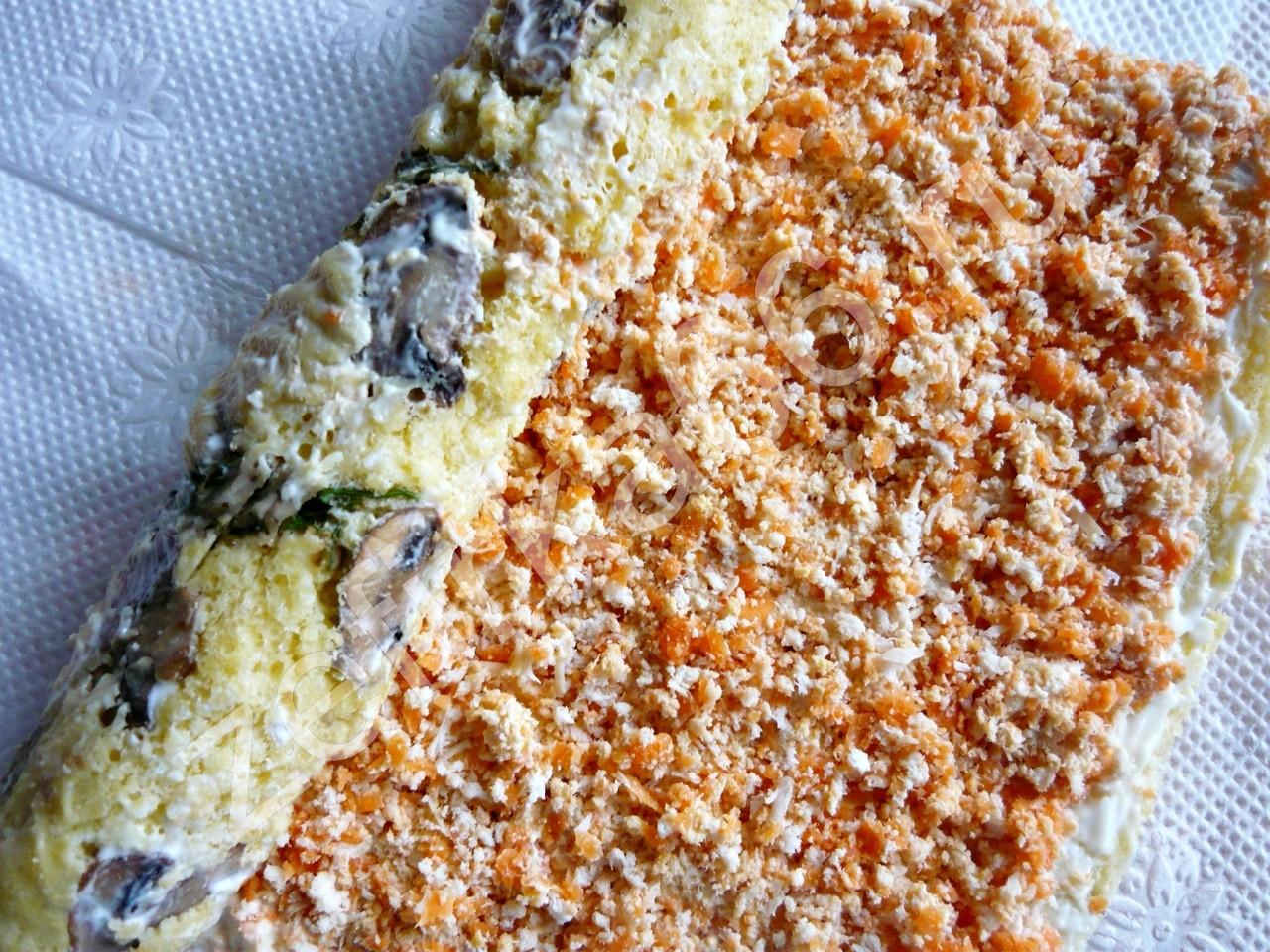 Бисквит соленый рецепт