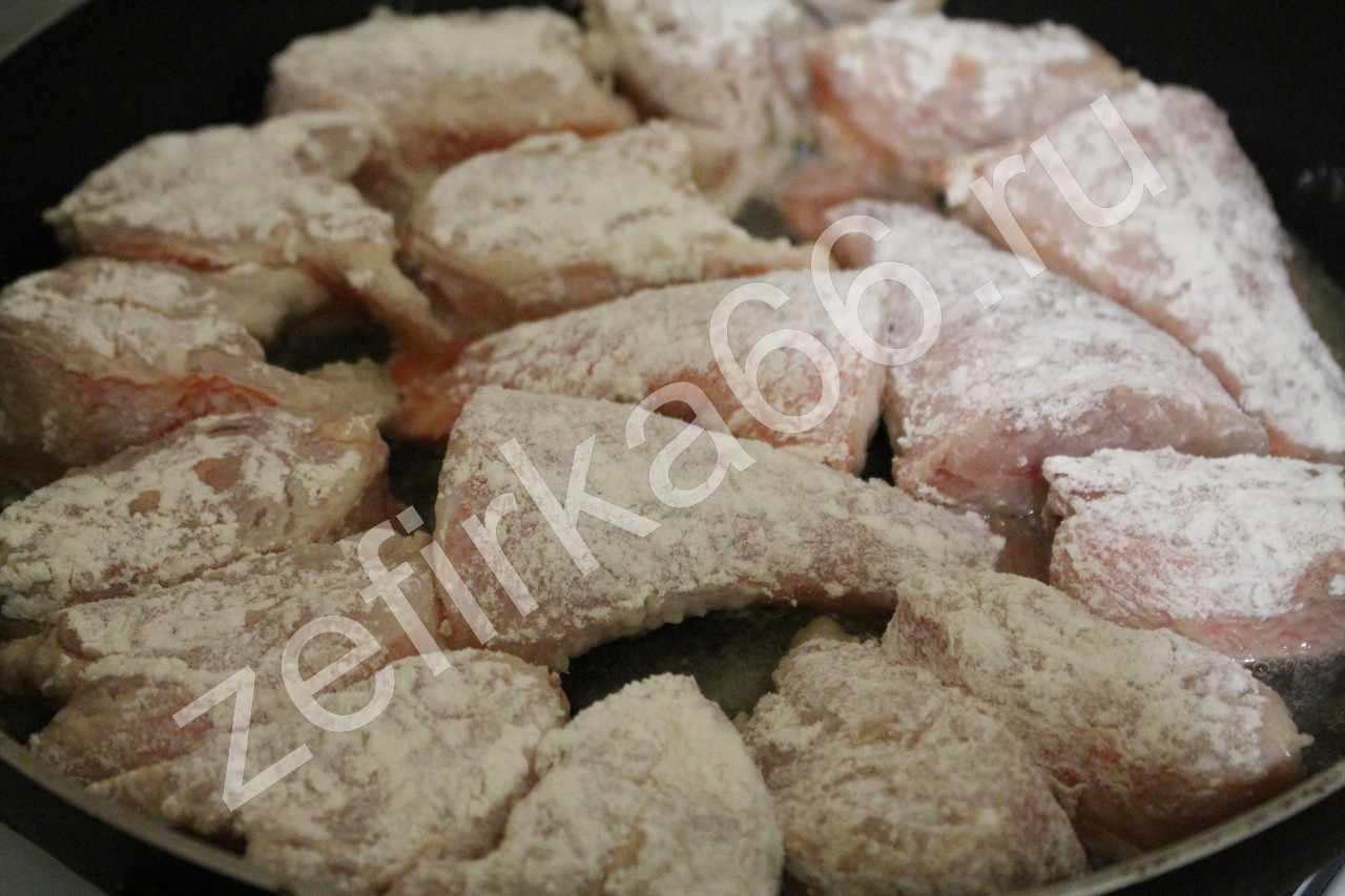 Как пожарить окуня на сковороде пошаговый рецепт