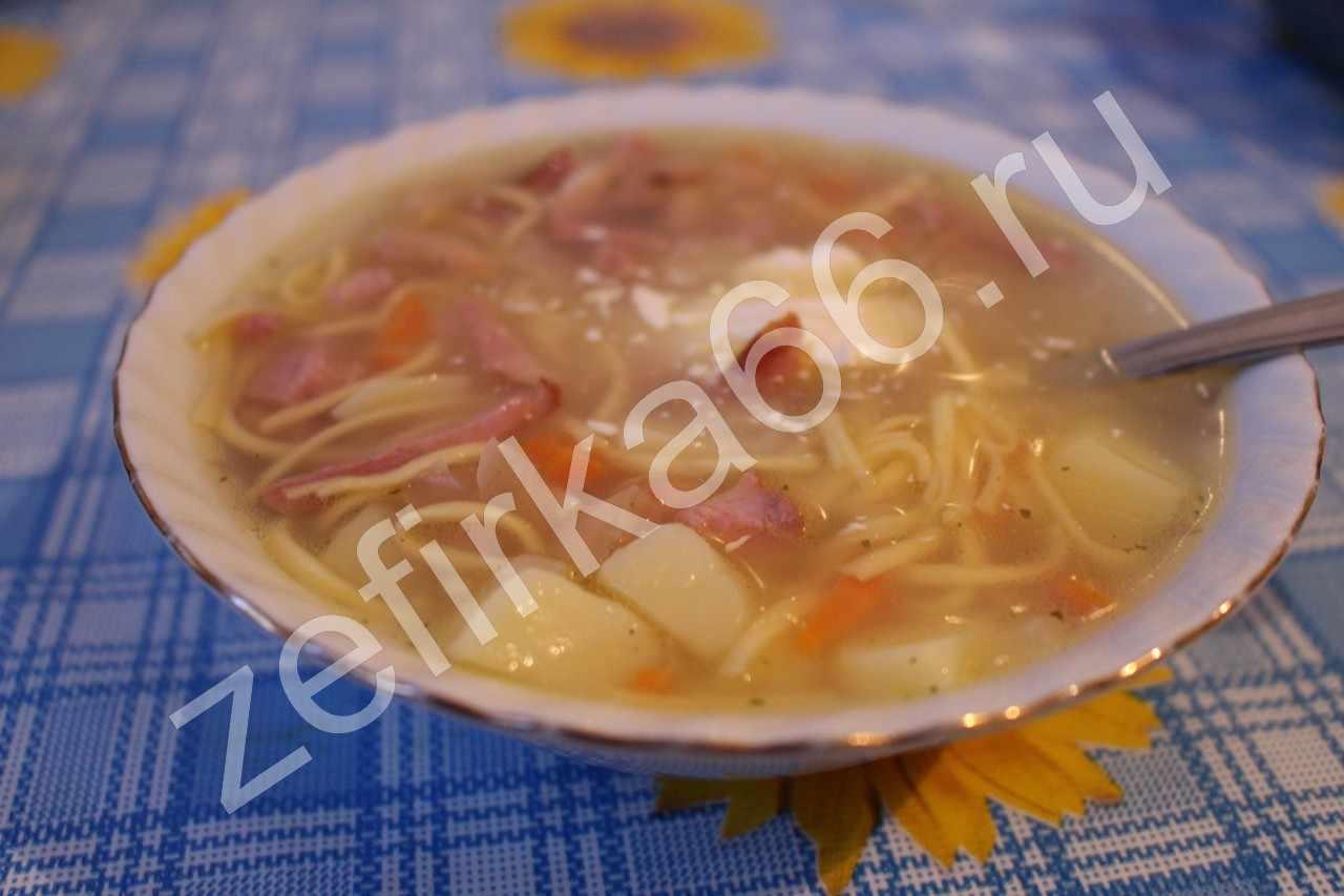 Суп шахтерский с колбасой рецепт пошагово