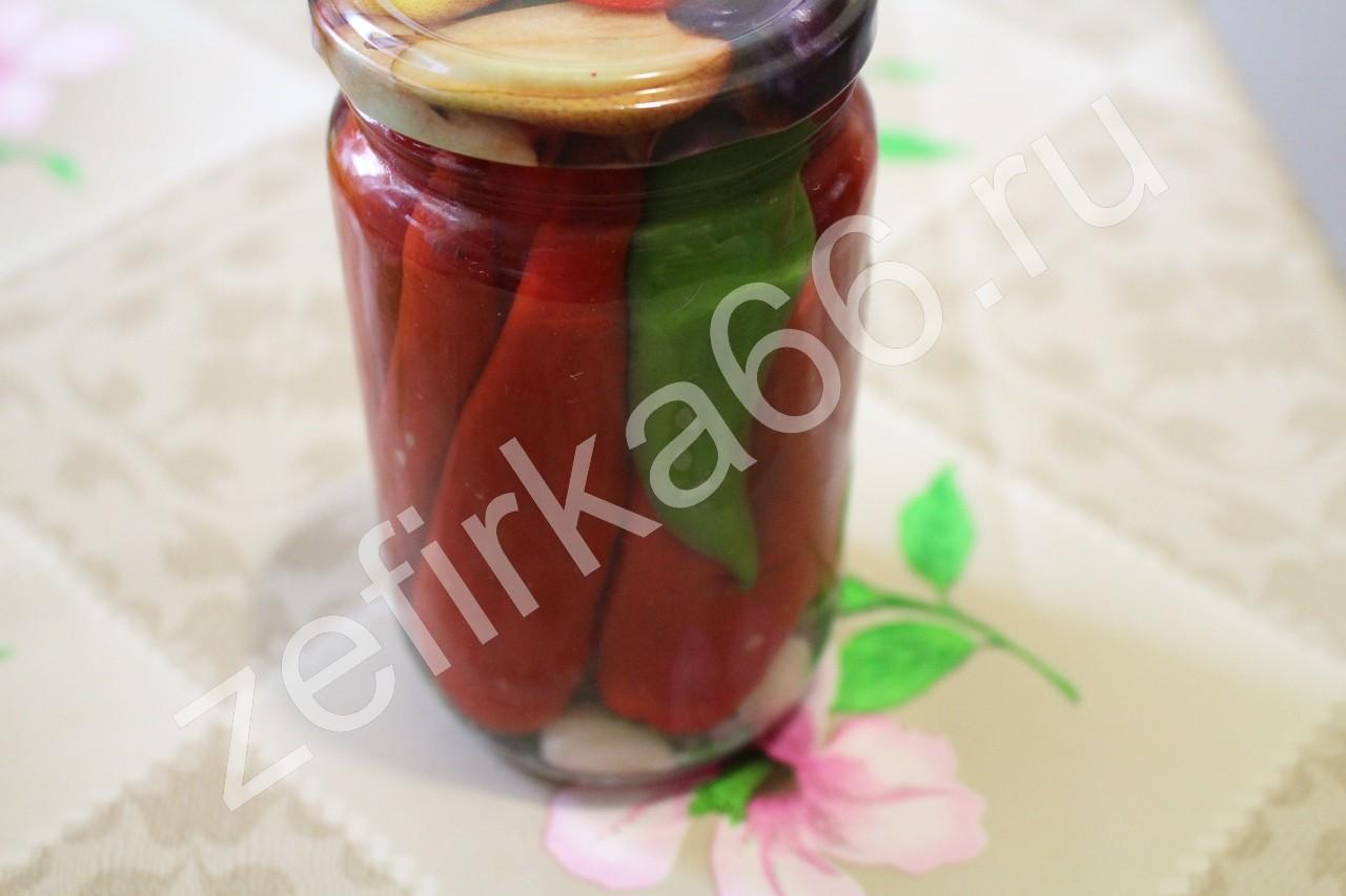 Рецепт маринованных перцев пошагово