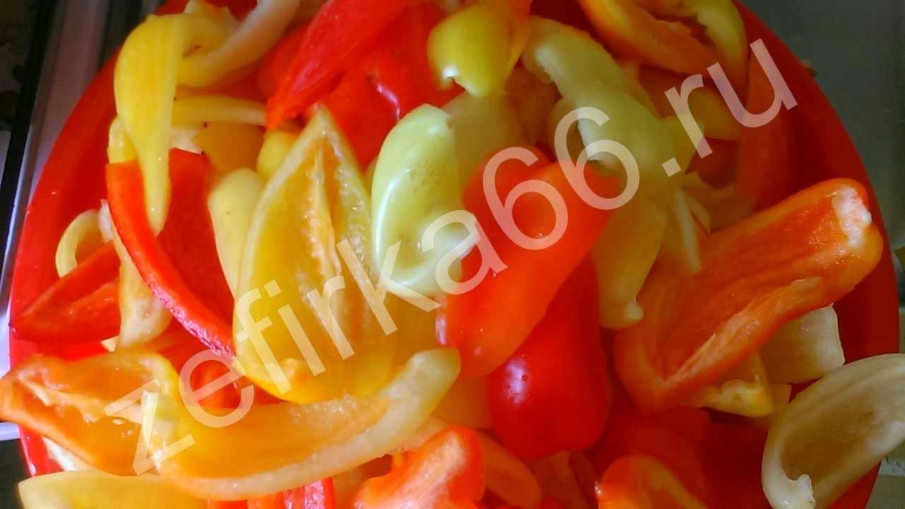 Салат зимний из помидор моркови и перца