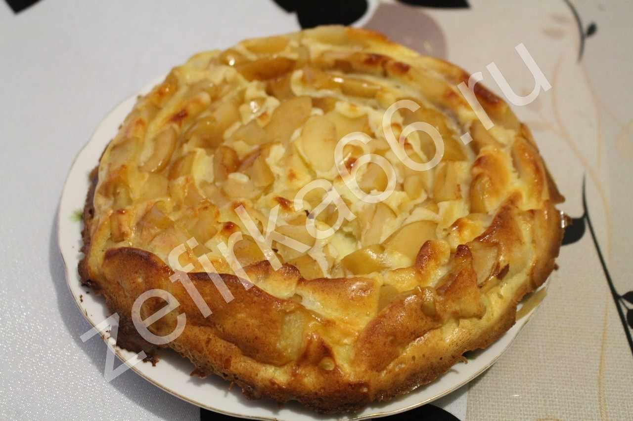 Шарлотка с яблоками пошаговый вкусный рецепт