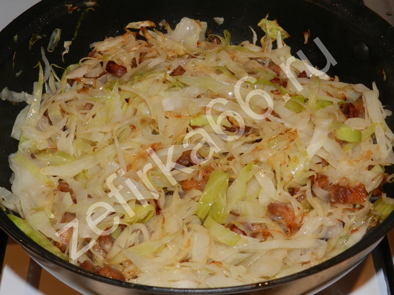 Рецепт тушеной капусты с пошаговым фото