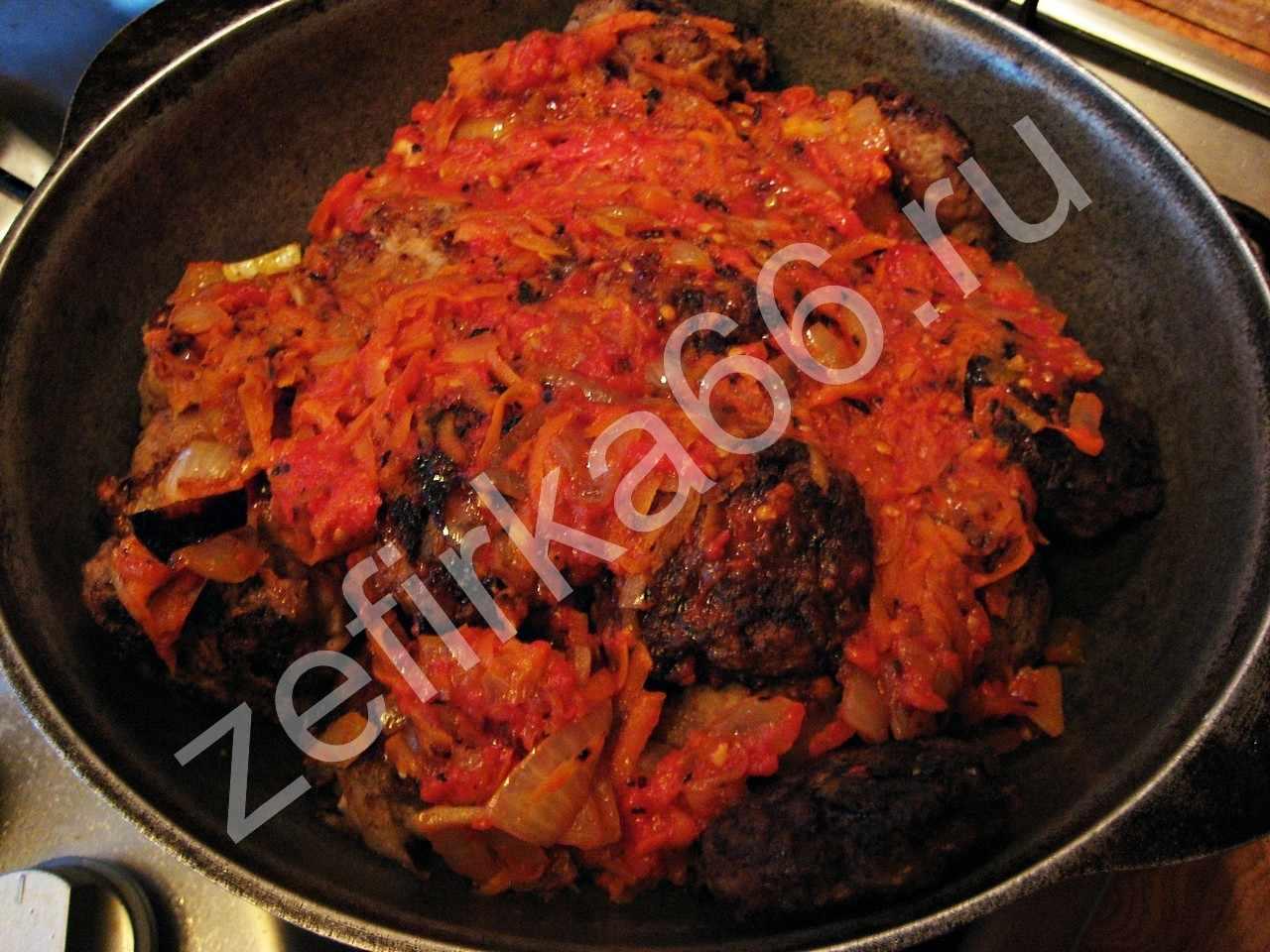 Голубцы без томата рецепт пошагово с фото