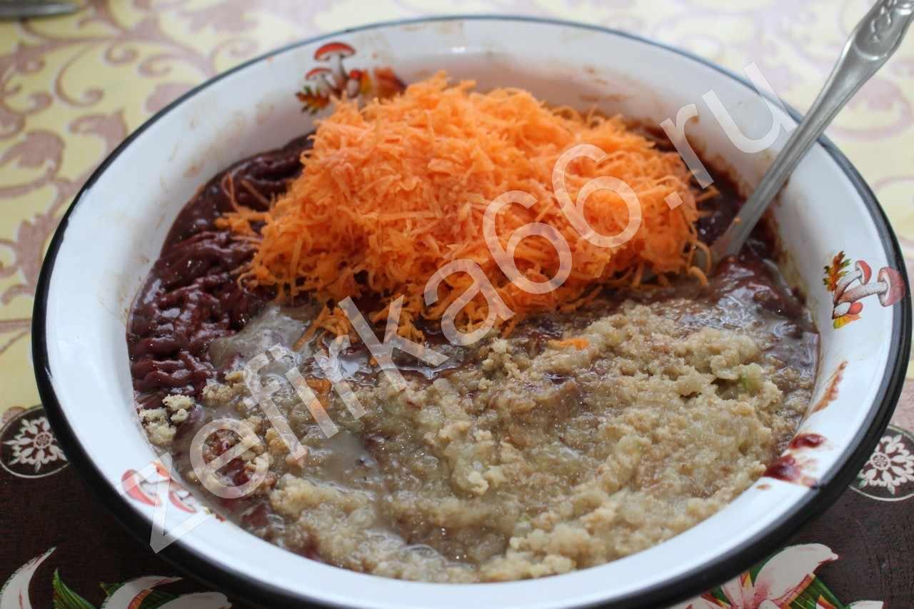 Оладьи из куриной печени рецепт пошагово с морковью и луком и