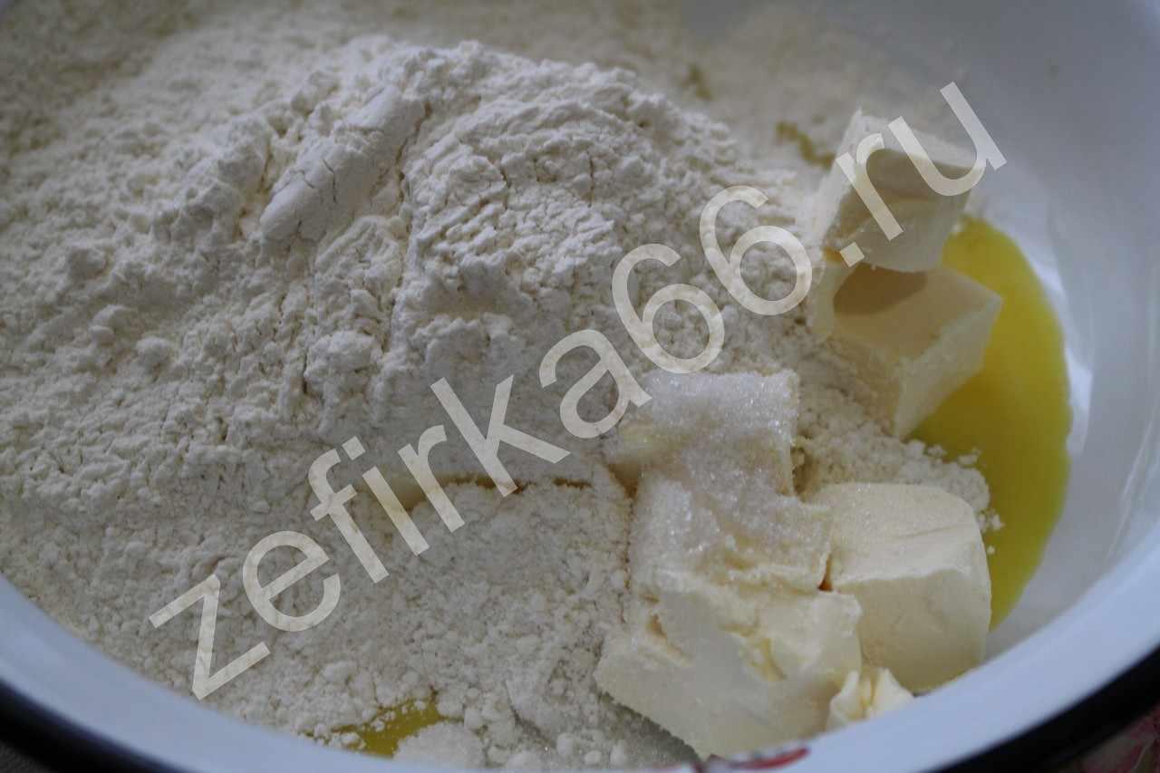 Тесто на желтках рецепт пошагово