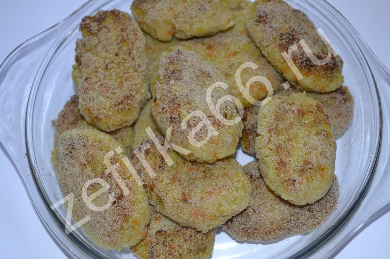 печеночные котлеты с картофелем рецепт